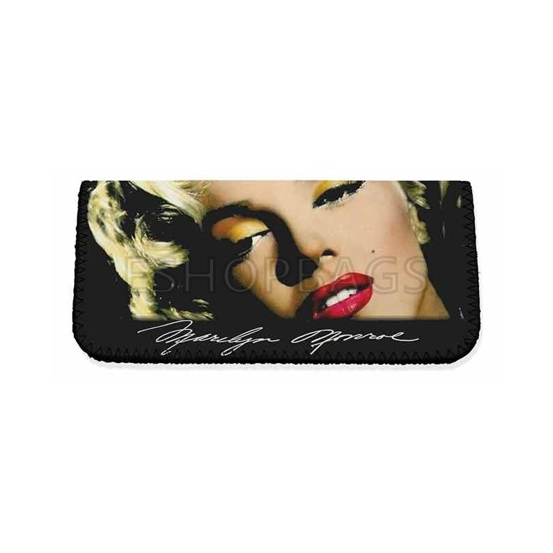 ΚΑΠΝΟΘΗΚΗ MADE IN GREECE MARILYN MONROE ΘΗΚΗ LATEX ΜΑΥΡΟ POR.104.03.034 3A-91