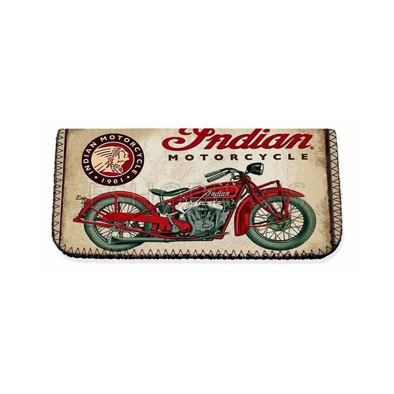 ΚΑΠΝΟΘΗΚΗ MADE IN GREECE INDIAN MOTORCYCLING LATEX ΜΑΥΡΟ POR.104.03.034 3A-74