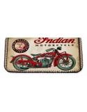 ΚΑΠΝΟΘΗΚΗ MADE IN GREECE INDIAN MOTORCYCLING LATEX ΜΑΥΡΟ POR.104.03.034 3A-74