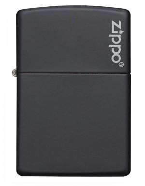 ΑΝΑΠΤΗΡΑΣ ΓΝΗΣΙΟΣ ZIPPO Black Matte with Zippo Logo TSA.101.03.24.007 218ZL