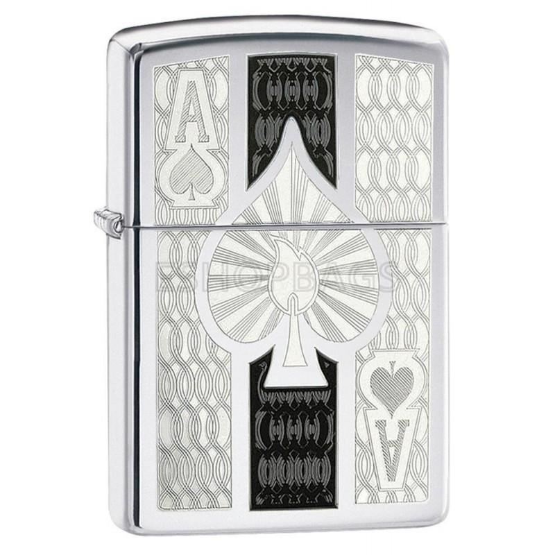 ΑΝΑΠΤΗΡΑΣ ΓΝΗΣΙΟΣ ZIPPO Intricate Spade Design TSA.101.03.24.010 24196