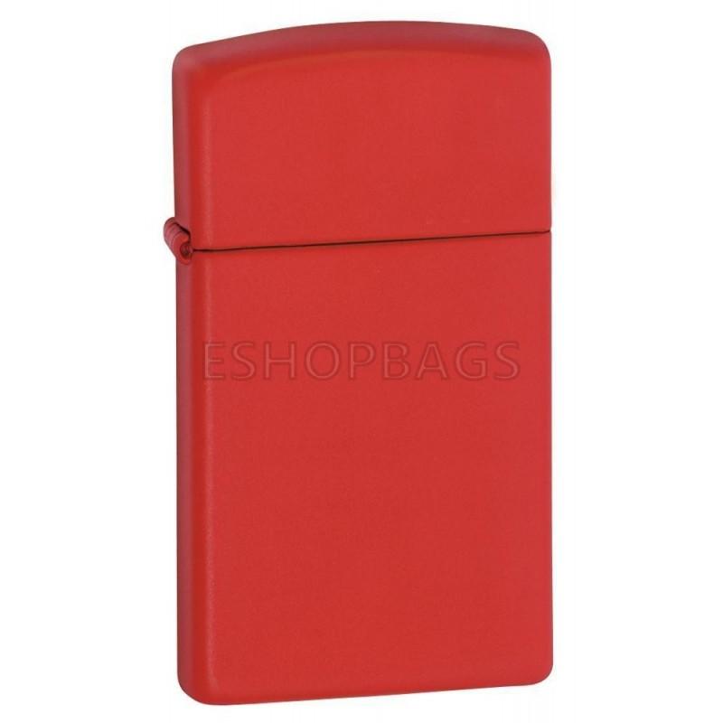 ΑΝΑΠΤΗΡΑΣ ΓΝΗΣΙΟΣ ZIPPO Slim® Red Matte TSA.101.03.24.025 1633