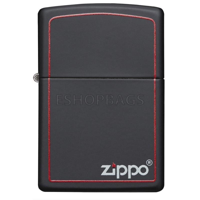 ΑΝΑΠΤΗΡΑΣ ΓΝΗΣΙΟΣ ZIPPO Classic Black and Red Zippo TSA.101.03.24.026 218ZB