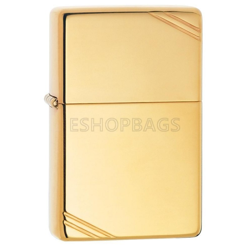 ΑΝΑΠΤΗΡΑΣ ΓΝΗΣΙΟΣ ZIPPO High Polish Brass Vintage With Slashes TSA.101.03.24.035 270
