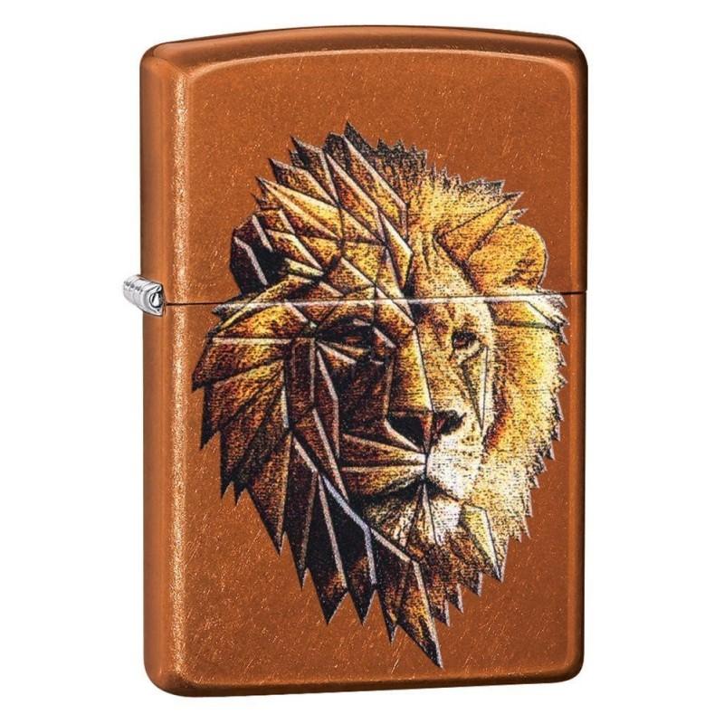 ΑΝΑΠΤΗΡΑΣ ΓΝΗΣΙΟΣ ZIPPO Polygonal Lion Design TSA.101.03.24.036 29865