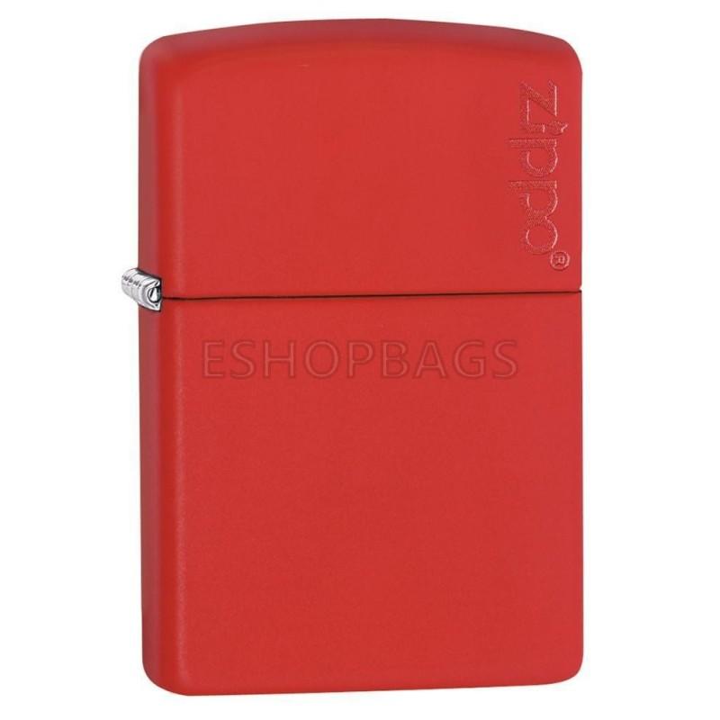 ΑΝΑΠΤΗΡΑΣ ΓΝΗΣΙΟΣ ZIPPO Classic Red Matte Zippo Logo TSA.101.03.24.041 233ZL