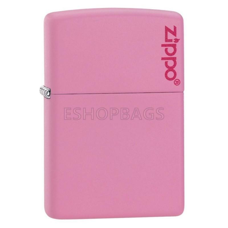 ΑΝΑΠΤΗΡΑΣ ΓΝΗΣΙΟΣ ZIPPO Classic Pink Matte Zippo Logo TSA.101.03.24.042 238ZL
