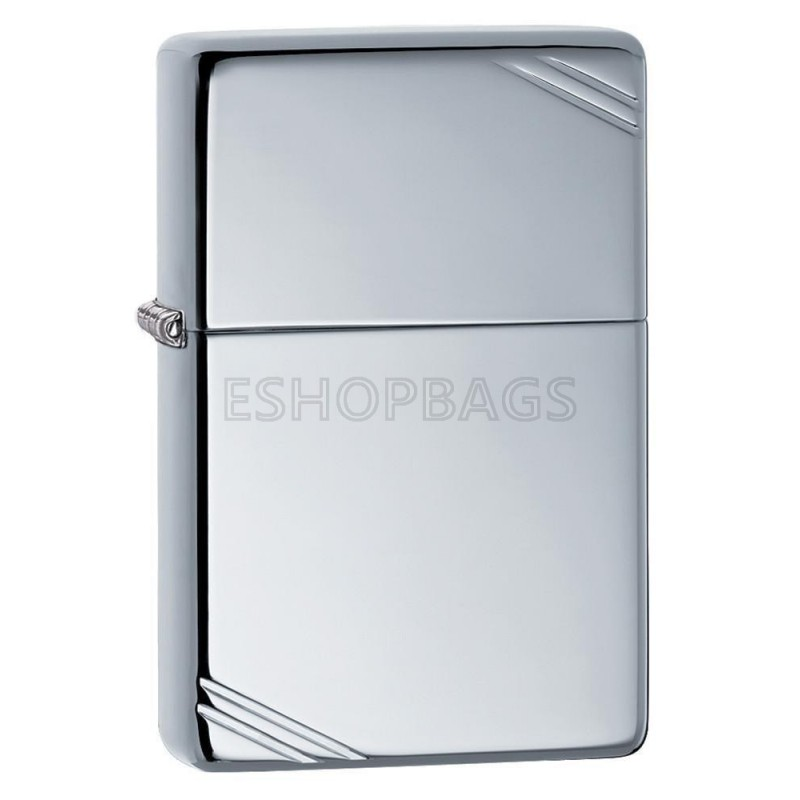 ΑΝΑΠΤΗΡΑΣ ΓΝΗΣΙΟΣ ZIPPO High Polish Chrome Vintage With Slashes TSA.101.03.24.052 260