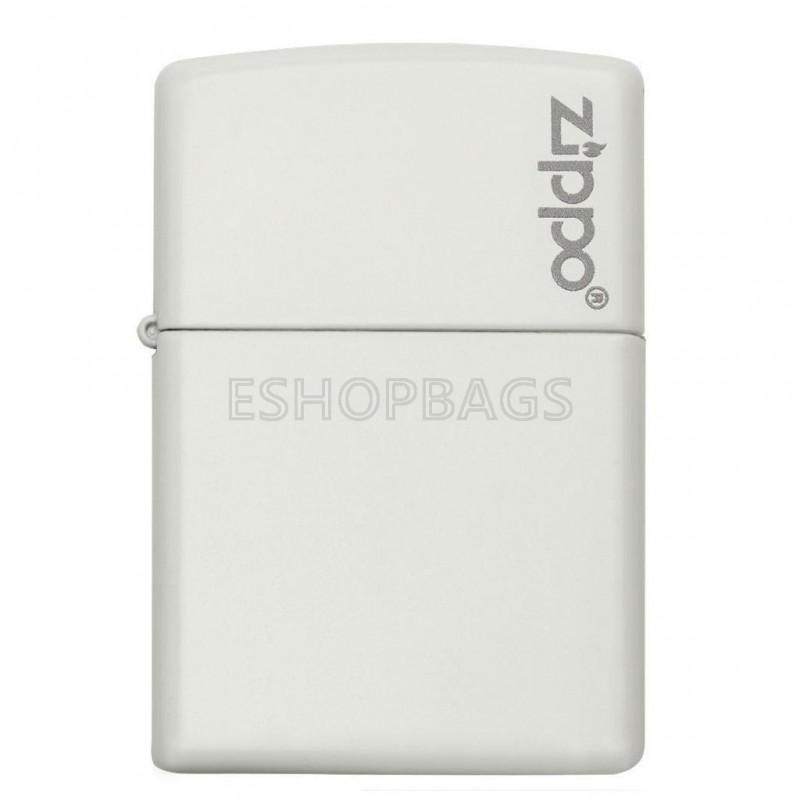 ΑΝΑΠΤΗΡΑΣ ΓΝΗΣΙΟΣ ZIPPO White Matte With Zippo Logo TSA.101.03.24.055 214ZL