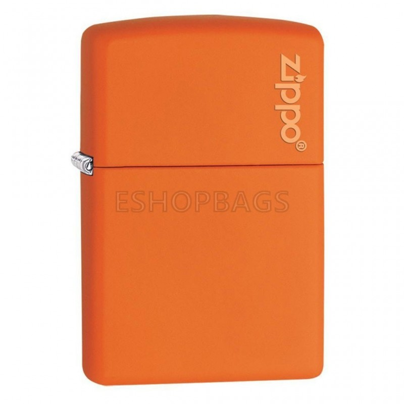 ΑΝΑΠΤΗΡΑΣ ΓΝΗΣΙΟΣ ZIPPO Orange Matte With Zippo Logo TSA.101.03.24.056 231ZL