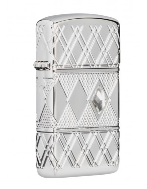 ΑΝΑΠΤΗΡΑΣ ΓΝΗΣΙΟΣ ZIPPO USA Diamond Pattern Design TSA.101.03.24.082 49052