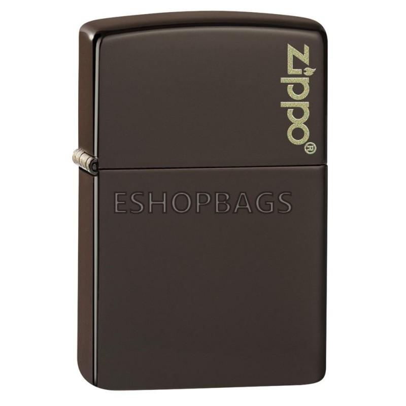 ΑΝΑΠΤΗΡΑΣ ΓΝΗΣΙΟΣ ZIPPO USA Classic Brown Zippo Logo TSA.101.03.24.090 49180ZL