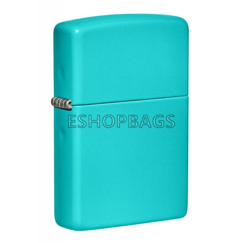 ΑΝΑΠΤΗΡΑΣ ΓΝΗΣΙΟΣ ZIPPO USA Classic Flat Turquoise TSA.101.03.24.091 49454