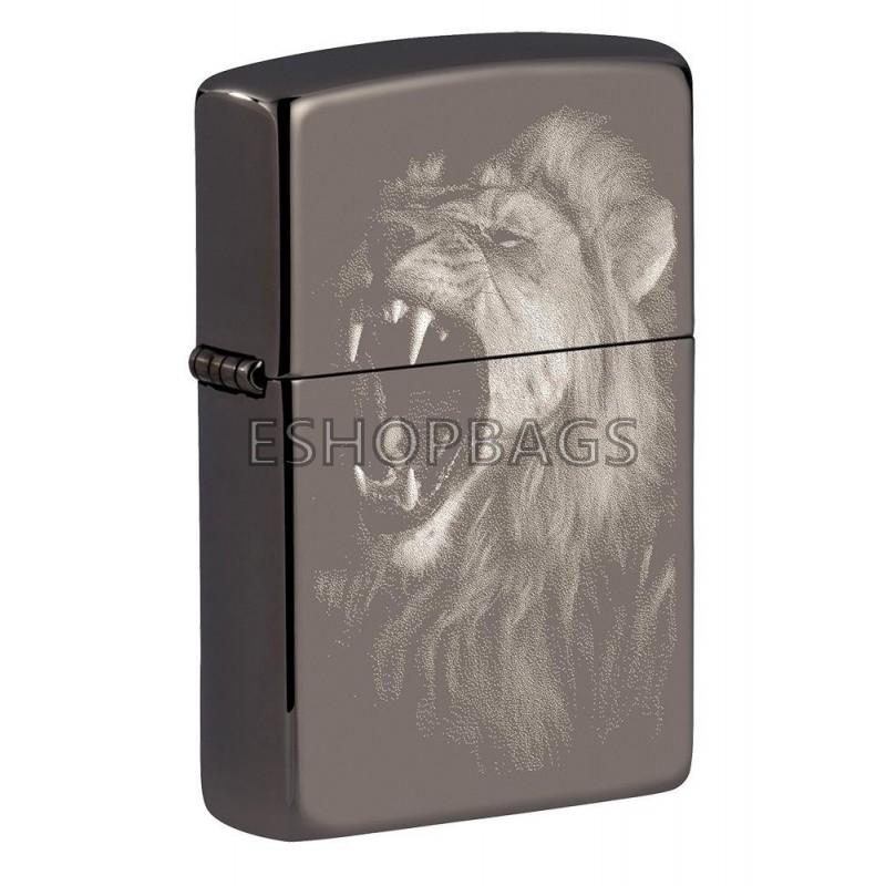 ΑΝΑΠΤΗΡΑΣ ΓΝΗΣΙΟΣ ZIPPO USA Fierce Lion Design TSA.101.03.24.102 49433