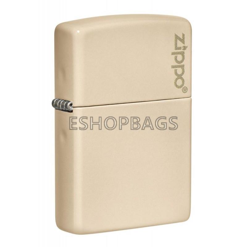 ΑΝΑΠΤΗΡΑΣ ΓΝΗΣΙΟΣ ZIPPO USA Classic Flat Sand Zippo Logo TSA.101.03.24.104 49453ZL