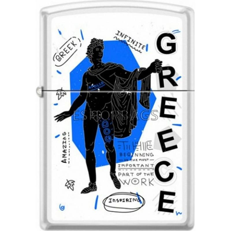 ΑΝΑΠΤΗΡΑΣ ΓΝΗΣΙΟΣ ZIPPO USA Greece Apollo Belvedere TSA.101.03.24.107 214-071152
