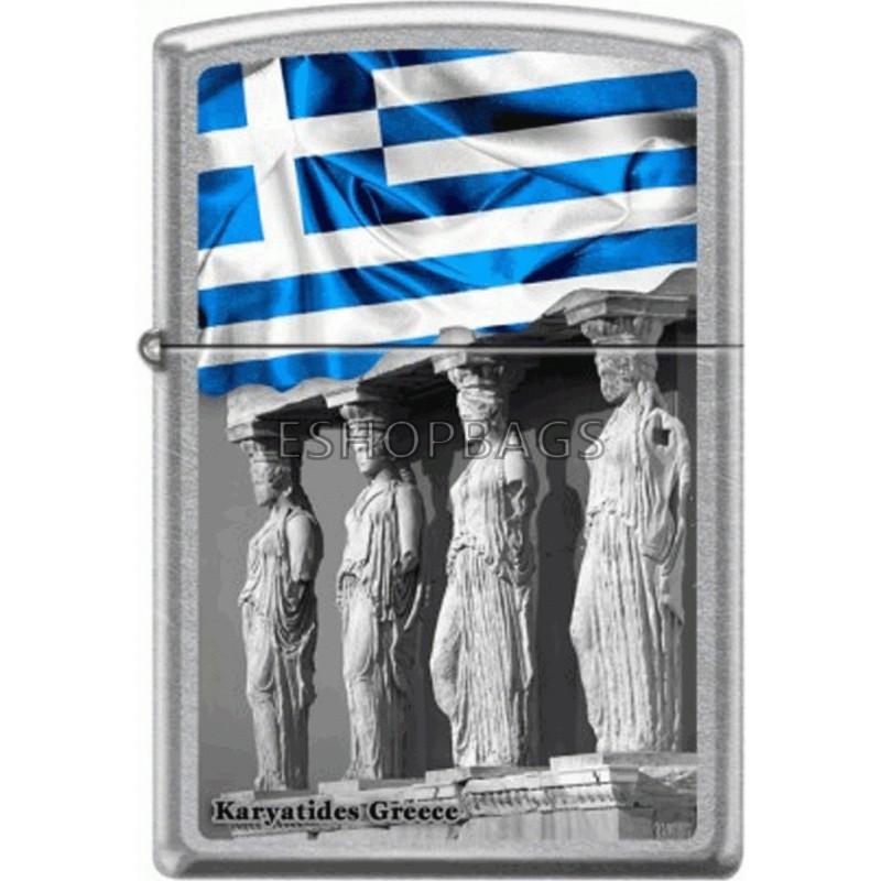 ΑΝΑΠΤΗΡΑΣ ΓΝΗΣΙΟΣ ZIPPO USA Karyatides Greece TSA.101.03.24.111 207-008260