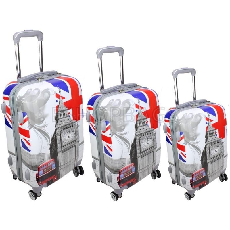 ΣΕΤ 3 ΒΑΛΙΤΣΕΣ ΣΚΛΗΡΕΣ BAG TO BAG BIG BEN ENGLAND TAX.102.01.020 LC-034